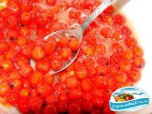 Рябиновый мед: полезные свойства и применение. Красная рябина протертая с сахаром медом